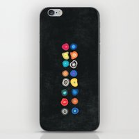 biology iPhone & iPod Skins featuring CELLS by THE USUAL DESIGNERS