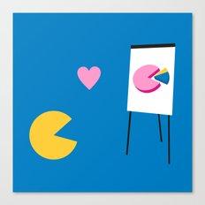 Office Romance Canvas Print