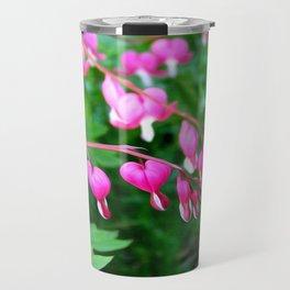 Bleeding Heart Flowers Photograph Travel Mug
