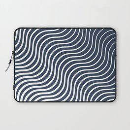 Whiskers - Navy #583 Laptop Sleeve