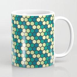 green honeycomb pattern Coffee Mug