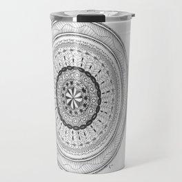 Zendala - Zentangle®-Inspired Art - ZIA 17 Travel Mug