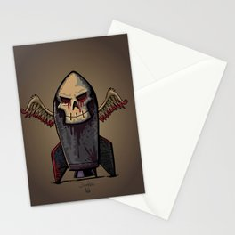 Skull Bomb Stationery Cards