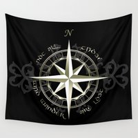 tolkien Wall Tapestries featuring Not all those who wander are lost - J.R.R Tolkien by Augustinet