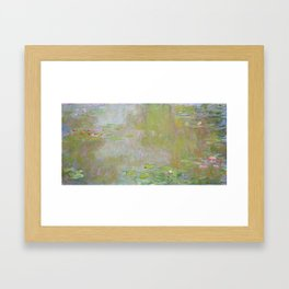 Water Lily Pond by Claude Monet Framed Art Print