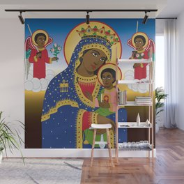 MARY AND CHRIST Wall Mural