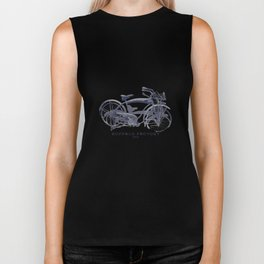 BUFFALO FACTORY Vintage Bicycle Biker Tank