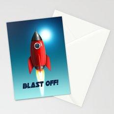 Blast Off! Stationery Cards