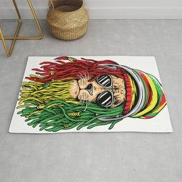 RASTA LION Rastafarian Jamaican reggae Music shirt Rug