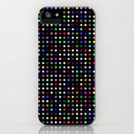 Big Hirst Polka Dot Black iPhone Case