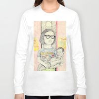 ghost world Long Sleeve T-shirts featuring ghost world by withapencilinhand