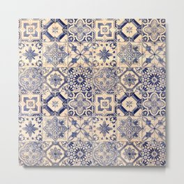 Ornamental pattern Metal Print