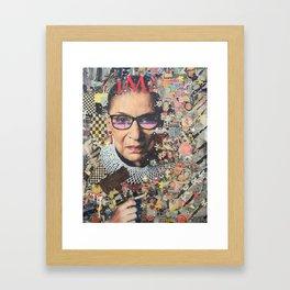 RBG Framed Art Print