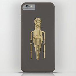Hipsterbot iPhone Case