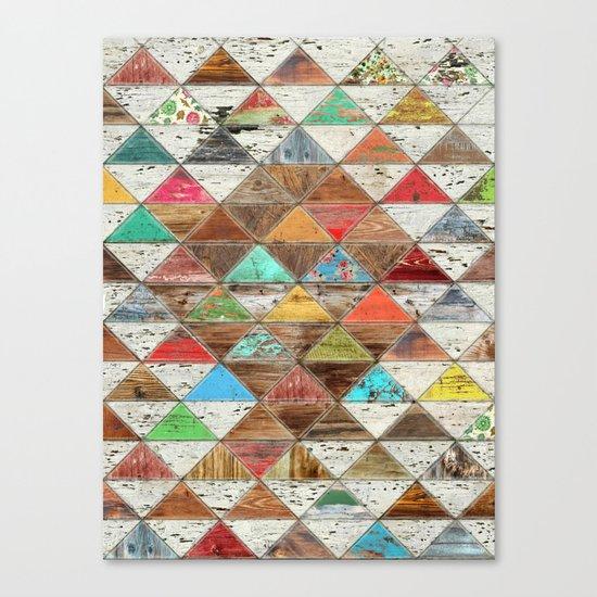 Love Pattern Canvas Print