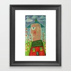 Make a Little Birdhouse in Your Soul Framed Art Print