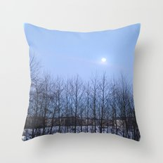 Winter Sky 2013 Throw Pillow