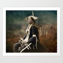 Native Honor Art Print