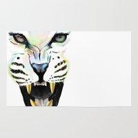 cheetah Area & Throw Rugs featuring Cheetah  by Tetevi Teteh