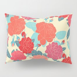 Rose Garden - Light Pillow Sham