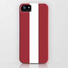 Flag Of Latvia iPhone Case