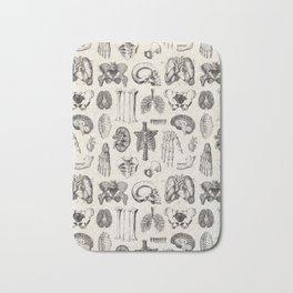 Human Anatomy Bath Mat