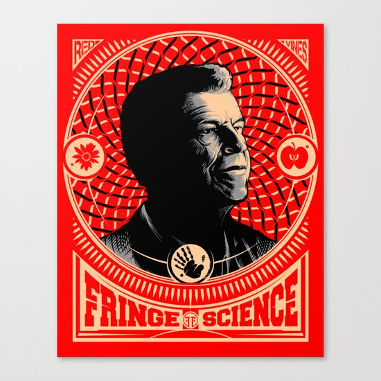 Walter Bishop - Fringe Science (RED) Canvas Print
