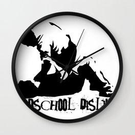 Oldschool Dislike Wall Clock