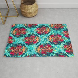Anchor and Octopuses Rug