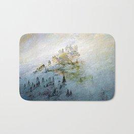 Caspar David Friedrich Morning Mist in the Mountains Bath Mat