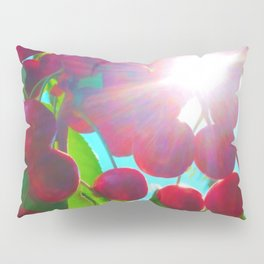 Summer Cherries Pillow Sham