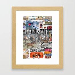 Ticket,Mustang,Flapper Framed Art Print