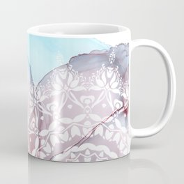 Fluid Inky Mandala Coffee Mug
