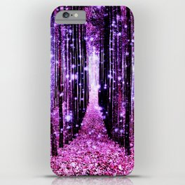 Magical Forest Pink & Purple iPhone Case
