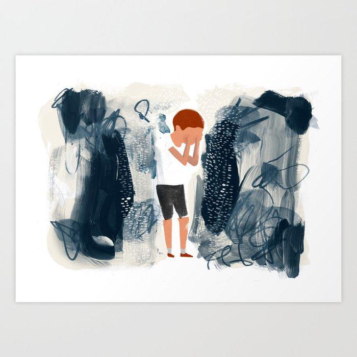 Toxic Stress Art Print