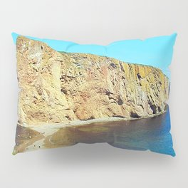 The Rock in the Sea Pillow Sham