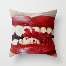 Lauren Nemchik - Cheese Throw Pillow