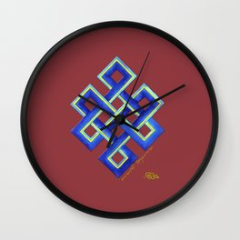 Endless Knot Wall Clock