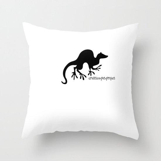 Ferret 1 Throw Pillow