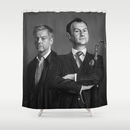 The British Government Shower Curtain
