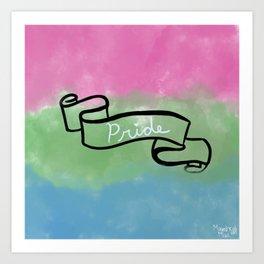 Polysexual Pride Art Print