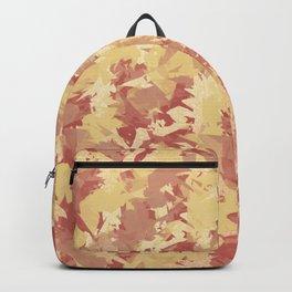 Orange fuzz Backpack