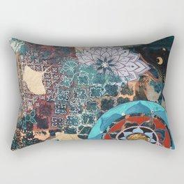 Golden Gingko Rectangular Pillow