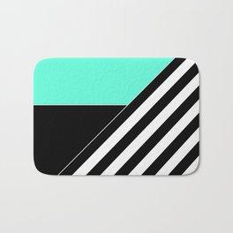 Asymmetrical patchwork 2 Bath Mat