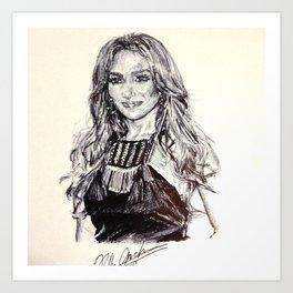 Jenny Sing Art Print