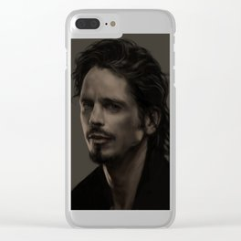 Chris Cornell tribute Clear iPhone Case