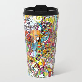 Illustration Bomb Travel Mug