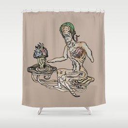 The Grail (v3) Shower Curtain