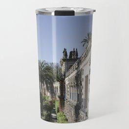 Royal Garden View - Alcazar of Seville Travel Mug