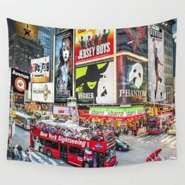 Times Square II Special Edition II Wall Tapestry